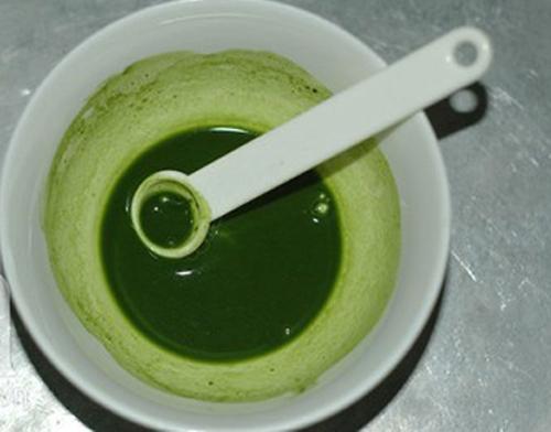 Sữa chua trà xanh ngon mịn thơm mát
