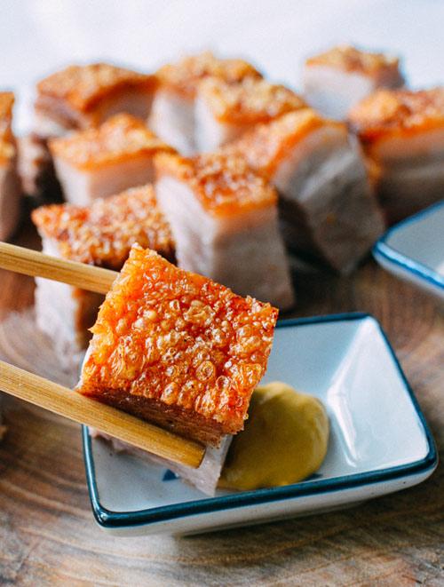 Các bước đơn giản để có món thịt heo quay bì giòn thơm ngon đã miệng