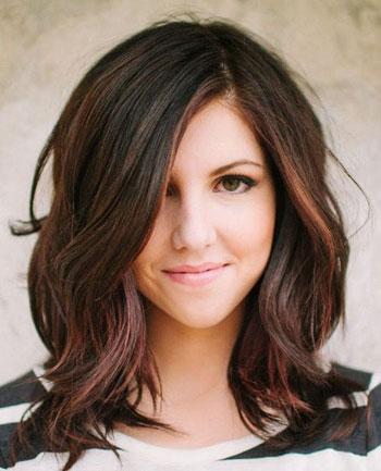 Các kiểu tóc lửng nữ tính