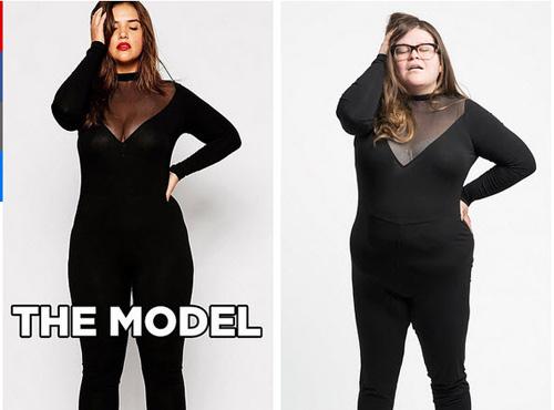 Lật tẩy mánh khóe quảng cáo thời trang cho người béo
