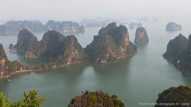 Vịnh hạ long vào top kỳ quan đáng kinh ngạc trên thế giới
