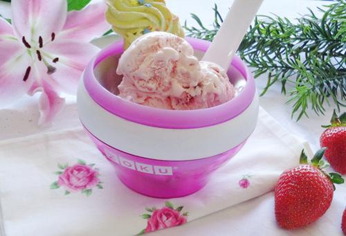 Cách làm kem dâu tại nhà mát lạnh