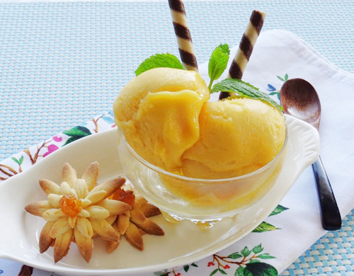 Hướng dẫn làm kem xoài mát lạnh thơm ngon