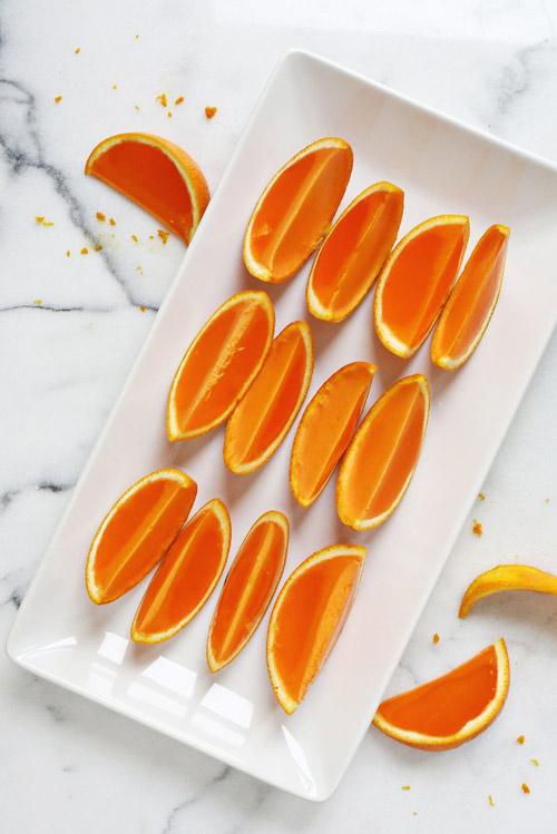 Hướng dẫn làm món thạch cam thơm mát ngày hè