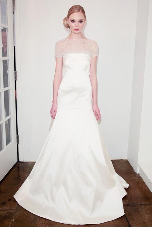 nín thở ngắm váy cưới tuyệt đẹp từ tuần lễ váy cưới