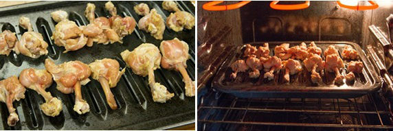 Cánh gà nướng chấm nước sốt cay - không say không về
