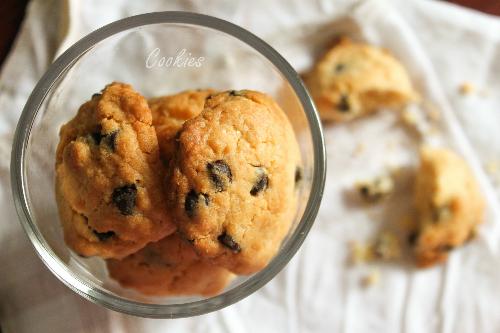 Giòn thơm bánh quy chocolate chip