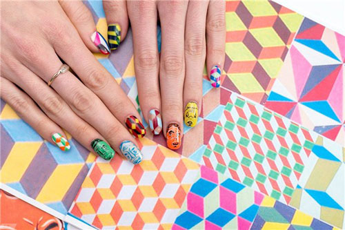 Khách biệt với những mẫu nail cực chất cho cô nàng sành điệu