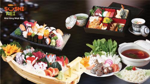 Nhâm nhi ly bia thưởng thức món lẩu khô nhật bản tại sushi kei