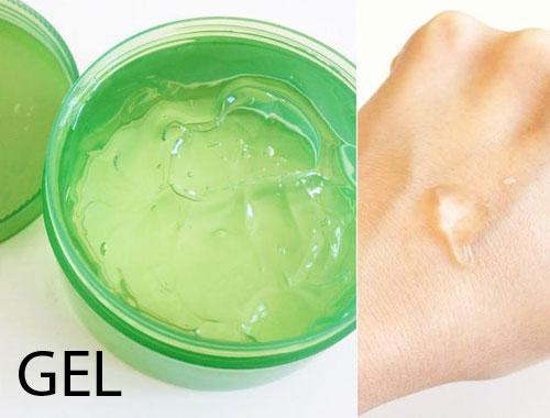 Phân biệt các dạng sản phẩm dưỡng da gel cream lotion