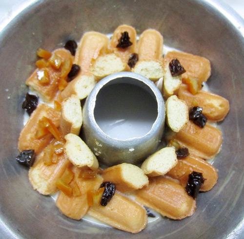 Bánh pudding mứt hoa quả đầy hấp dẫn