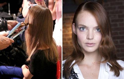 Cách giữ nếp tóc của người mẫu trước khi lên sàn catwalk