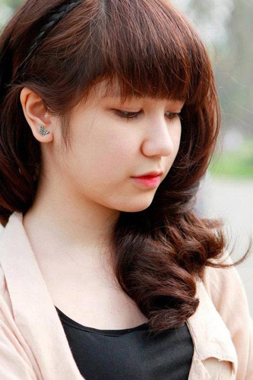 Học cách biến tấu tóc đẹp và dễ thương như hot girl