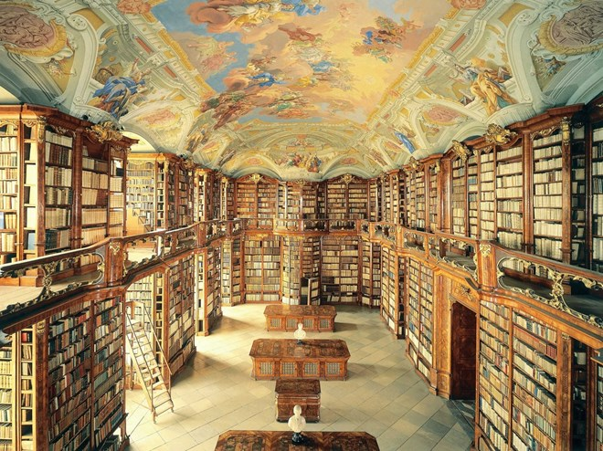 Ngắm nhìn tận hưởng vẽ đẹp của 18 siêu thư viện đỉnh nhất thế giới
