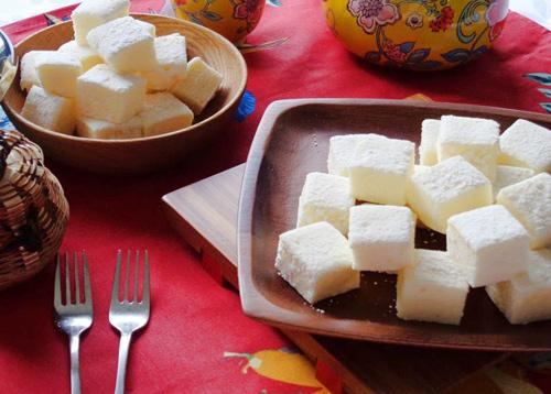 Ngon ngất ngây kẹo marshmallow vị cam